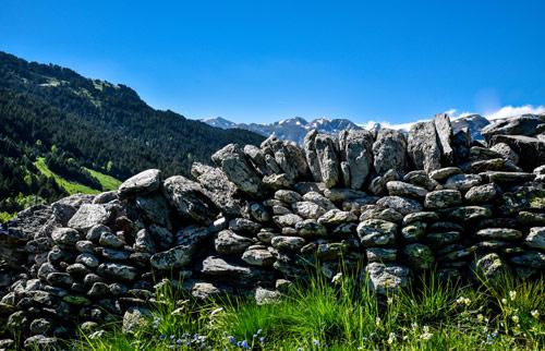 construcció pedra seca andorra