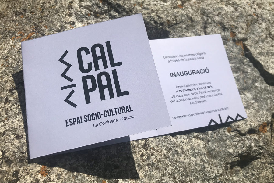 Inauguració Cal Pal a La Cortinada (Ordino)