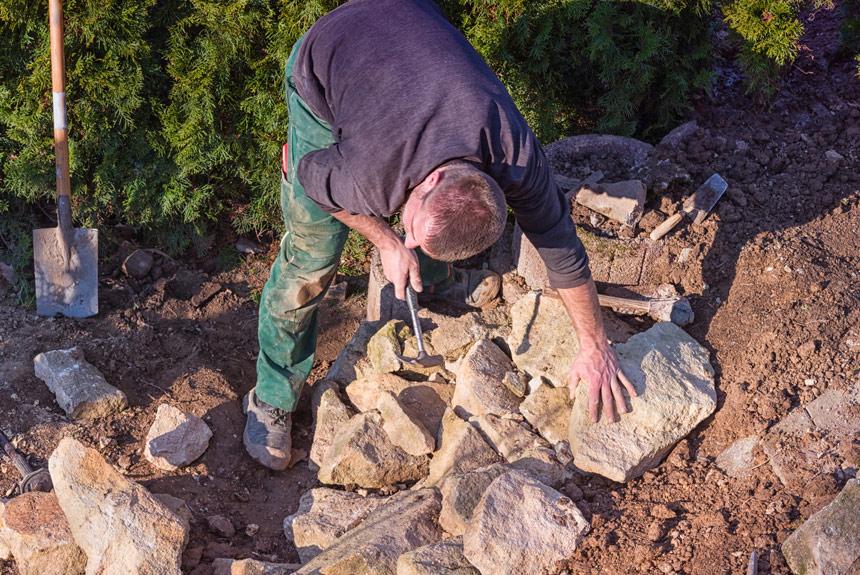 Cal Pal i Govern creen el primer curs sobre pedra seca per als professionals de la construcció