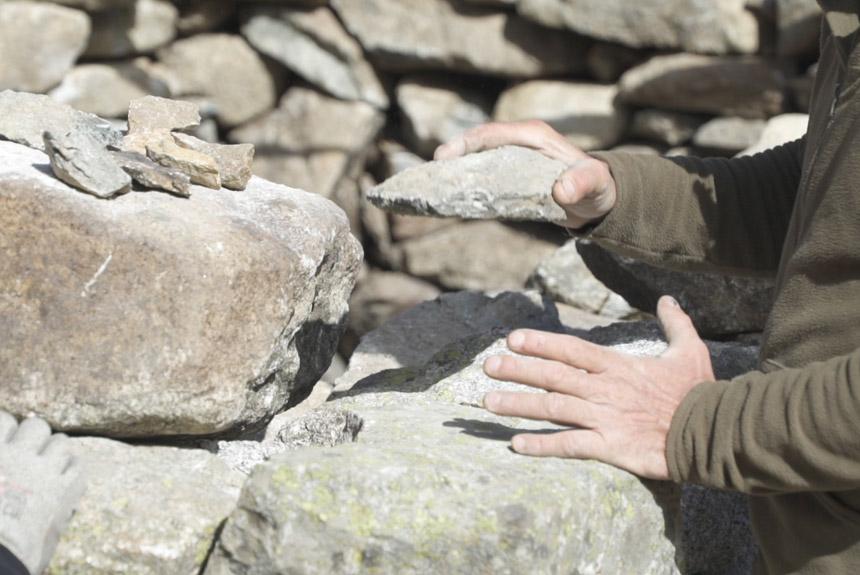 Obertes les inscripcions per a la 3a edició del Curs de pedra seca
